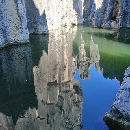 Reflected stone..