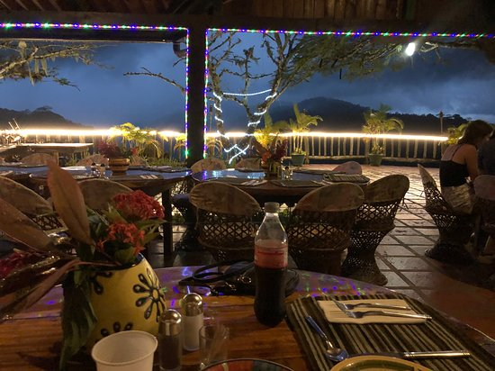 The Waterfall That The Restaurant Overlooks Tallest In Costa Rica Picture Of Adventure Dining Jaco Tripadvisor