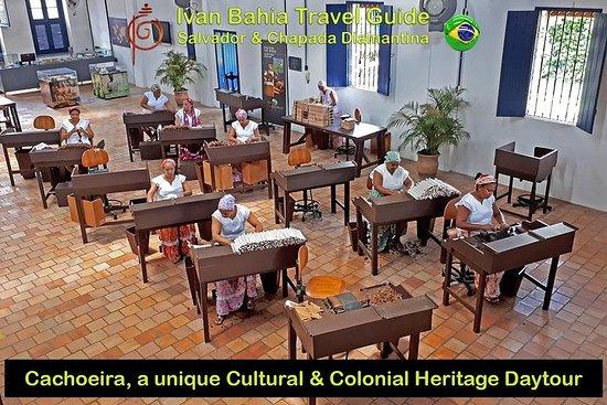 Ivan Bahia, Cachoeira & Recôncavo kulturarv en hel dagstur fra...