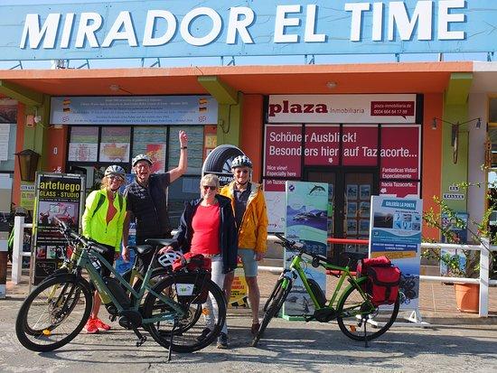 Unterwegs auf der Inselumrundung am Mirador El Time