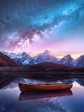 Qoruldi lake, it's really amazing  any time of year ☺️ Upper Svaneti, Georgia ☺️  Everybody has to see this !☺️❤️