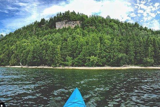 Death's Door Bluff Kayak Tour