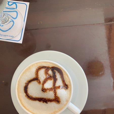 Maravilloso café con leche gracias Ariagna, Rachel , Emilaima