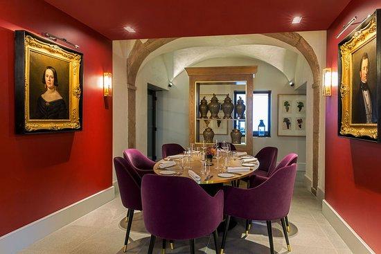 Table du Chef du restaurant Le Cloître