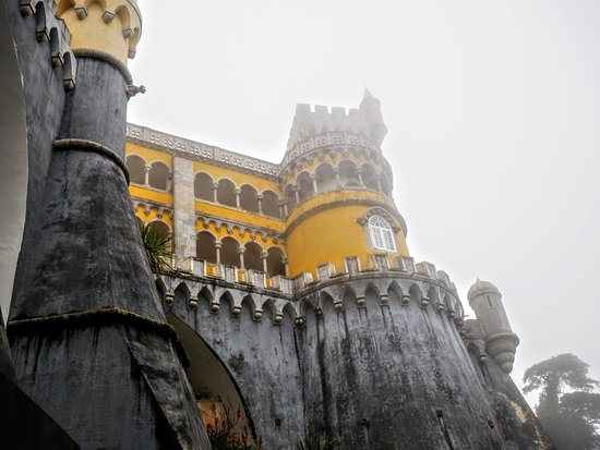 Sintra and Cascais Small-Group Full-Day Tour from Lisbon: Pena Palace in the fog!