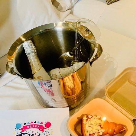 Gentile omaggio dell'hotel per il mio compleanno!!