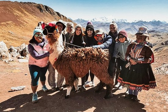 另类的彩虹山帕尔科约徒步旅行和社区参观(小型团体旅游)