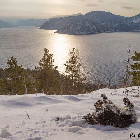 Lake Teletskoye, Rosja: Mountain Altai.  Teletskoye lake.
