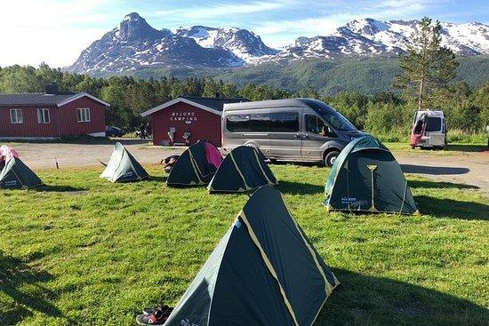 12-dagers Norge Campingeventyr på minibuss