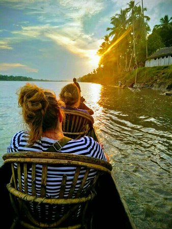 SCOUTING THE MYSTICAL SEPIK RIVER AT KOROGO VILLAGE ARE TWO STAFF FROM WORLD ADVENTURES with Sepik Adventure Tours E.adventurepng@gmail.com W.www.sepikadventuretours.com