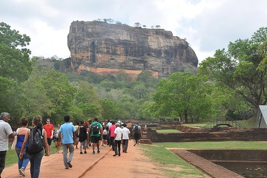 Sigiriya; The Ancient Rock Fortress...