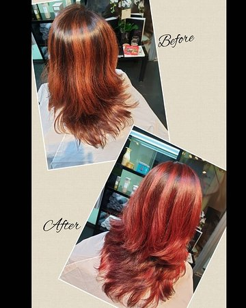 At Miss G, we enjoy delighting our Customers! Would you dare to be different?! #schwarzkopf #schwarzkopfpro #schwarzkopfvibrance #schwarzkopfcolour #changeyourstyle #daretobedifferent #bebold #gorgeousforever #missg #missgbeautysalon