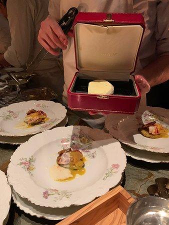galet de yaourt solidifié box Cartier