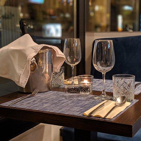 Romatic dinner reservation.