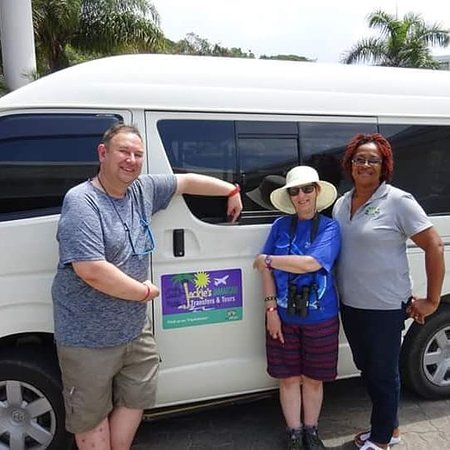 Returning guests Jon and Jackie Dickinson from the UK. Proud to have our guests returning every year since our business opened in 2014.