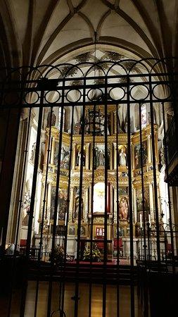 angolo riservato alle monache in preghiera