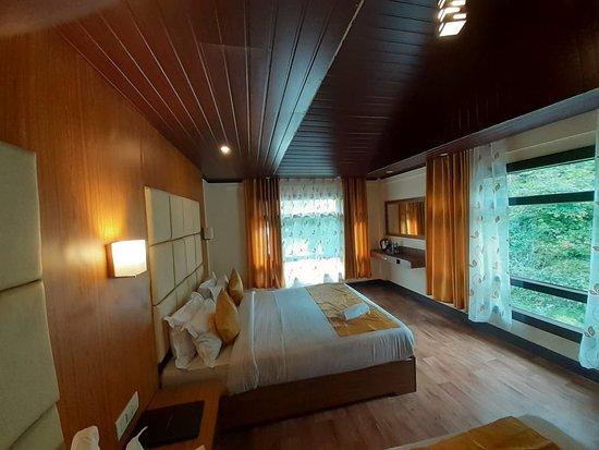 View from Mystic Rodhi Resort at Darjeeling