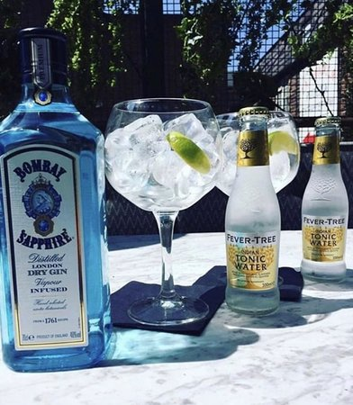 Bombay Sapphire Gin and Fever-Tree Tonic Thursday Deal