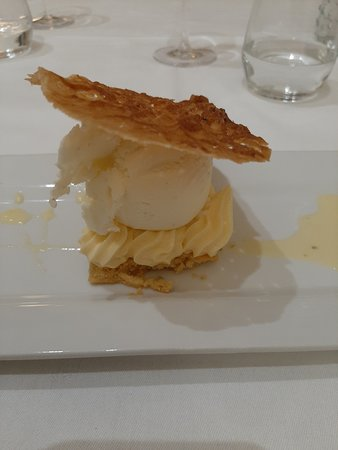 Lorette, فرنسا: Un dessert