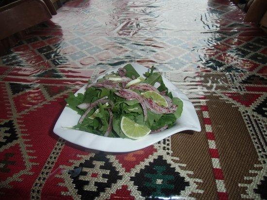 Rocca Salad rocca, onion