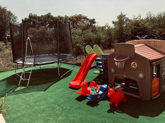 Free kids area.