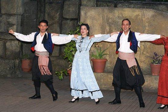 Dora Stratou aula de dança grega...