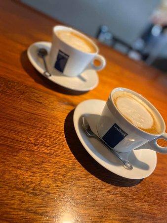 We proudly serve Lavazza coffee, Espresso & Cappuccino's