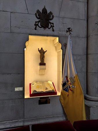 Reliquia de San Juan Pablo II.