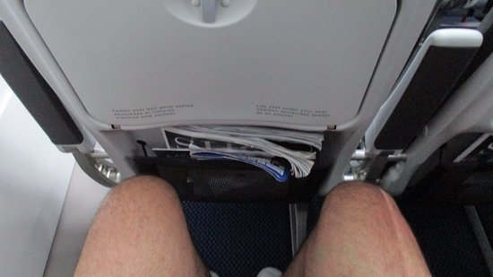 British Airways: Good legroom for someone 6ft