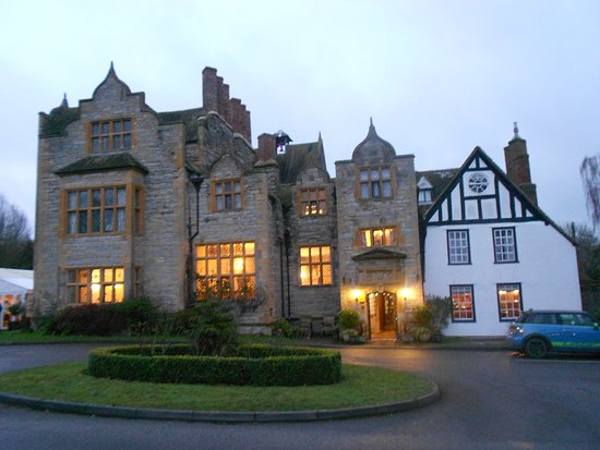 Front Façade of Salford Hall Hotel