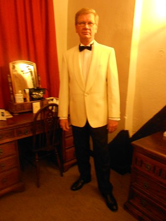Room No 12 - My Husband Dressed For New Year Black Tie Gala Dinner