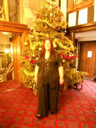 By The Christmas Tree In The Baronial Hall On New Years Eve