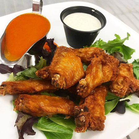 Wings are delicious and sometimes just what you (or the kids) want.
