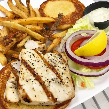Yes.. a fish sandwich hits the spot.