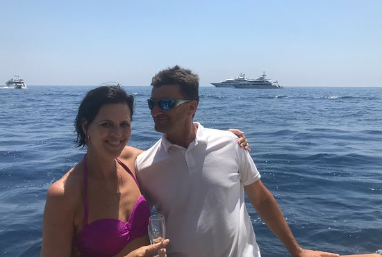 Private Capri Boat Tour Top sellers: Satisfied customer with Roberto