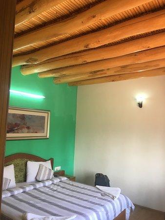 room with wooden top & flooring
