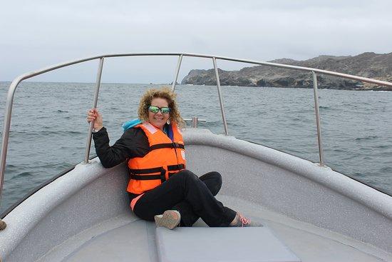 La Serena Whale Watching Cruise with Atacama Desert Tour: Disfrutando del paseo