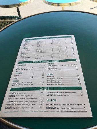 More menu again