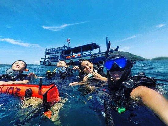 Koh Rong Samloem, Kambodža: Fun Dives