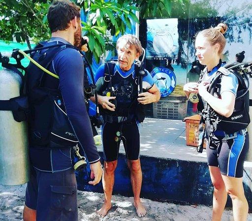 Koh Rong Samloem, Kambodža: Teaching diving is our passion