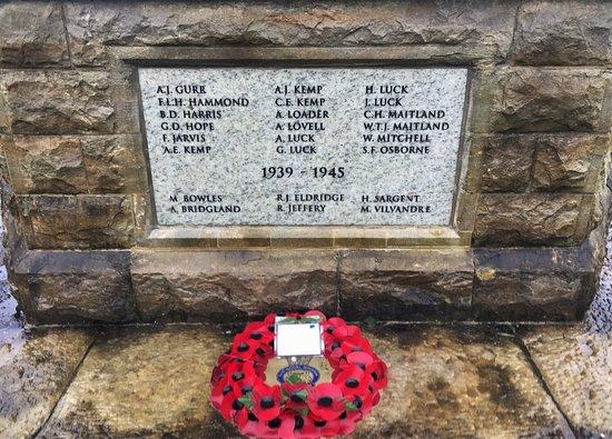 8.  Goudhurst War Memorial, Goudhurst, Kent