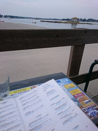 Les tables vue sur mer