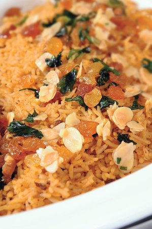Rice with nuts is like no other!