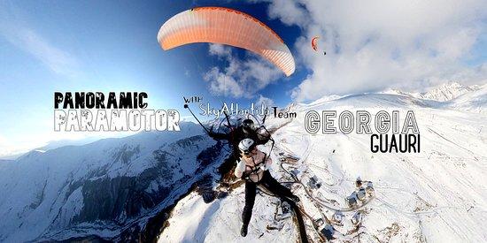 Gudauri Paragliding - SkyAtlantida