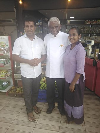 """Dambadeniya, Sri Lanka: The second time, the famous Sri Lankan chef """"Publis Silva"""" has came to our Resturant."""