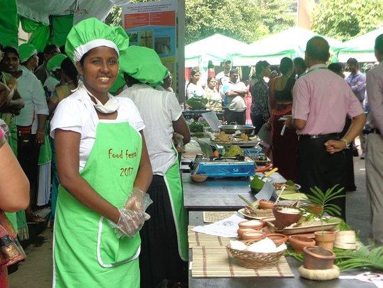 Dambadeniya, Sri Lanka: Food festival