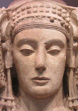 The Dama de Elche, 4th Century BC, Museo Arqueologico Nacional, Madrid, Spain