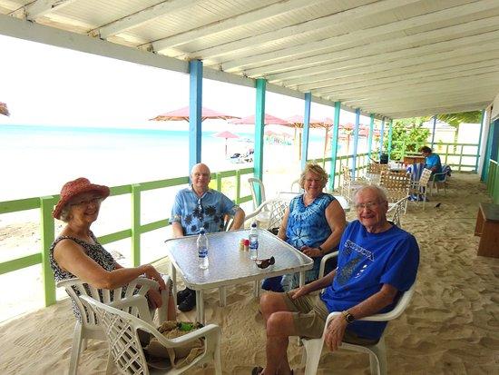 Saint Mary Parish, Antigua: Darkwood Beach Bar