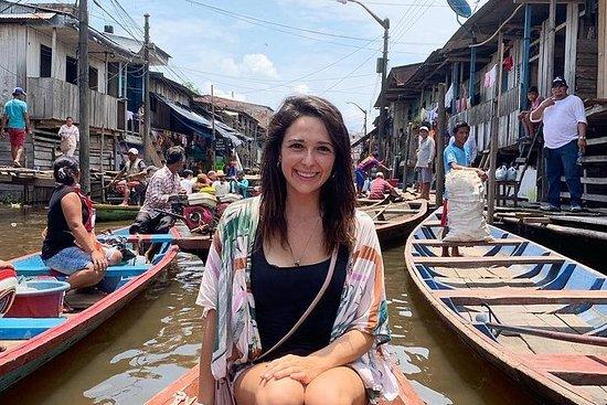 Mercado de Belén en Iquitos y la...