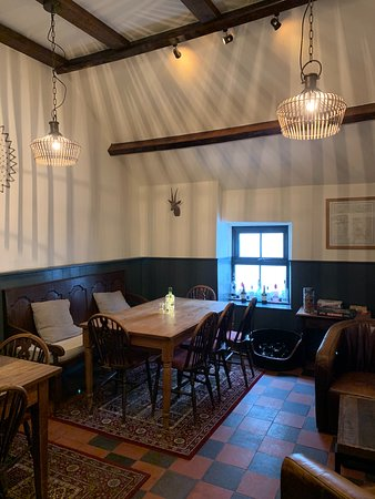 The Cwtsh. Dog friendly dining area by the bar